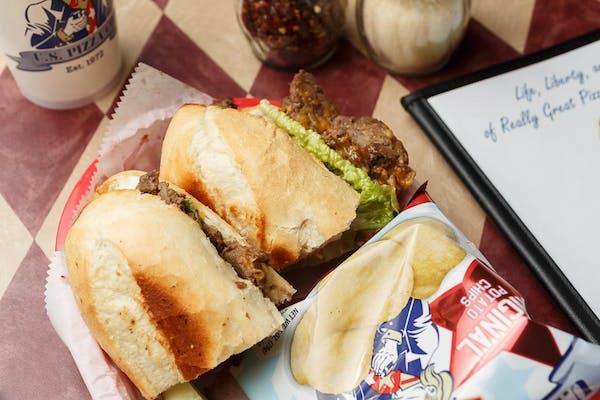 Roast Beef & Cheddar Sub