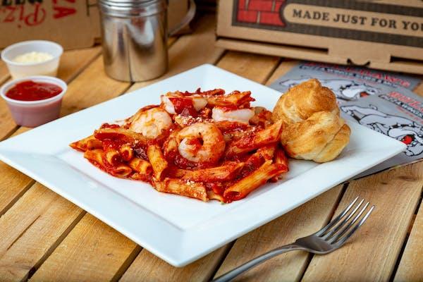Chicken, Shrimp, or Veggie Pasta