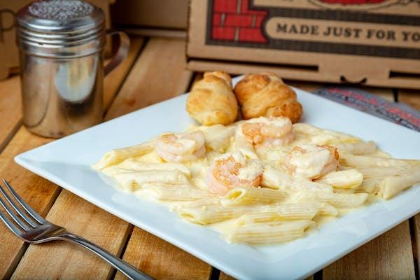 Chicken, Shrimp, or Veggie Alfredo