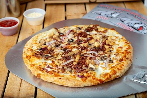 Chicken Bacon Ranch Gourmet Pizza