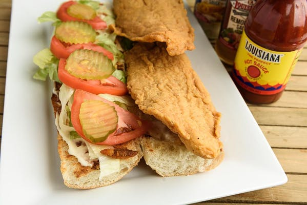Fried Catfish Poboy