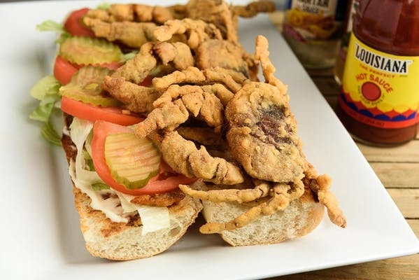 Soft-Shell Crab Poboy