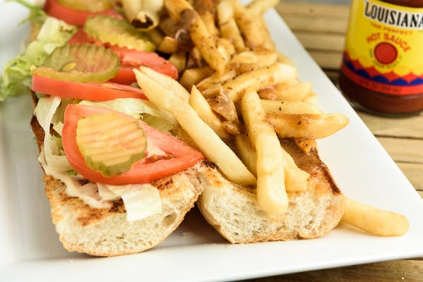 French Fry with Gravy Poboy