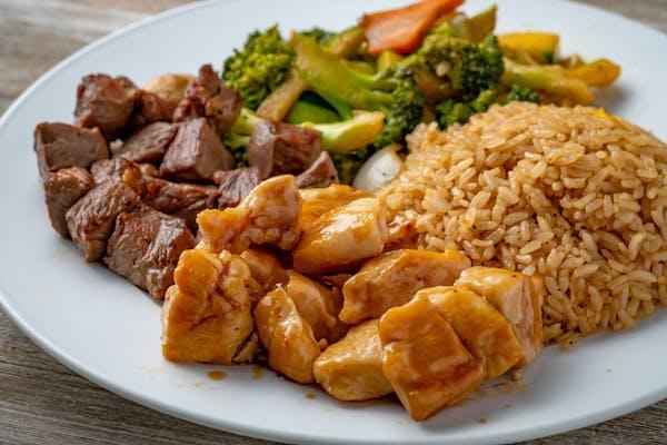 Hibachi Steak & Chicken