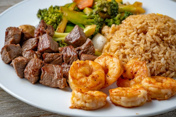 Hibachi Steak & Shrimp