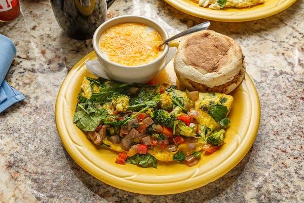Veggie Delight Omelette