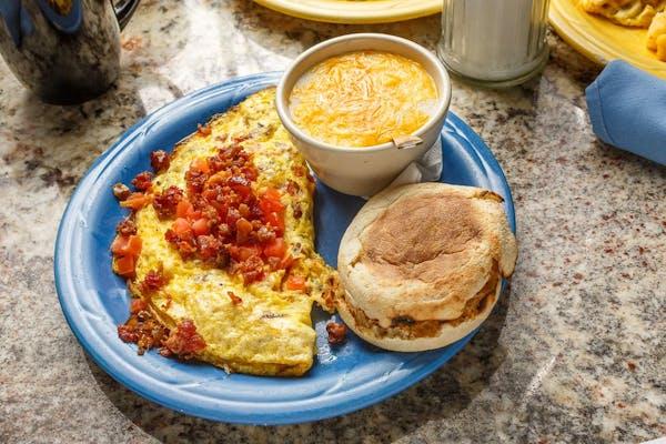 Pimento Omelette