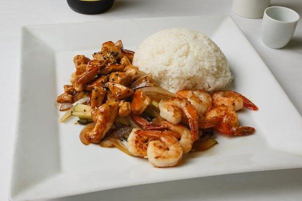 Teriyaki Chicken & Shrimp
