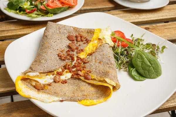 Bacon & Egg Crepe
