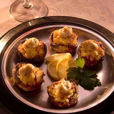 Seafood-Stuffed Mushrooms