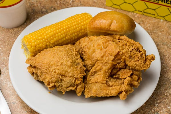 (2 pc.) Fried Chicken Combo