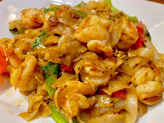 Pad Kee Mao Noodles