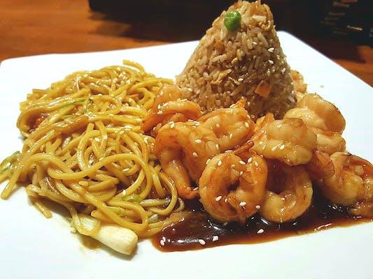 Shrimp Hibachi Lunch