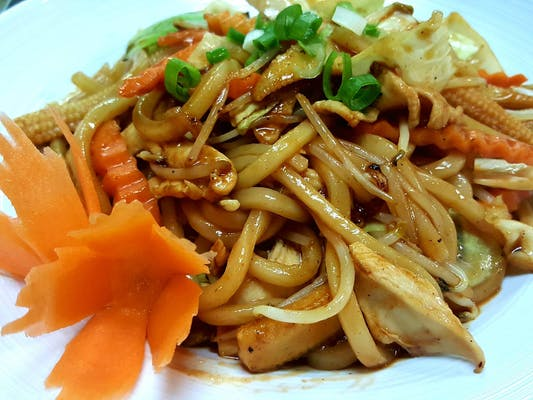 Spicy Yakiudon