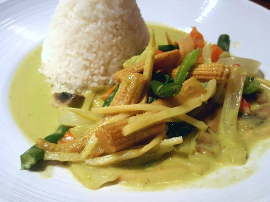 Green Curry Lunch