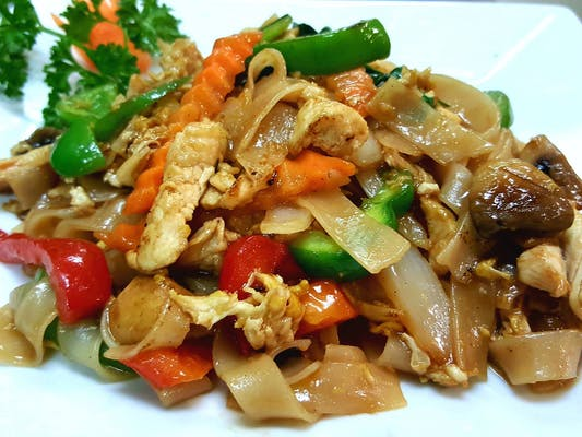 Pad khee Mao Noodle Lunch