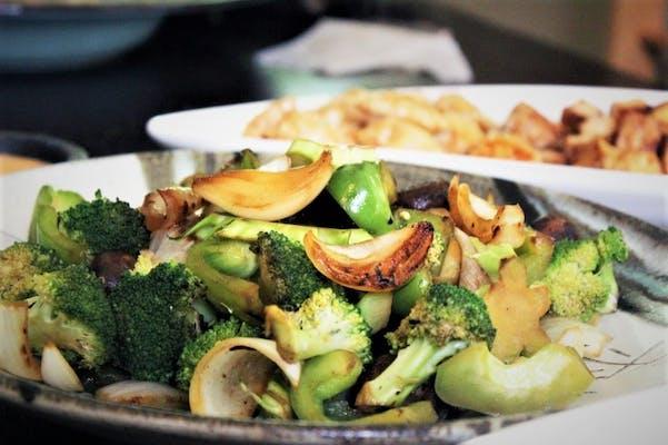 Vegetarian Hibachi