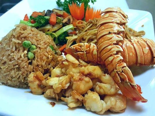 Lobster Tail Hibachi
