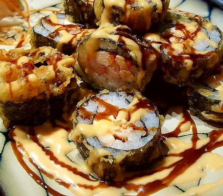 Spicy Crawfish Tempura Roll