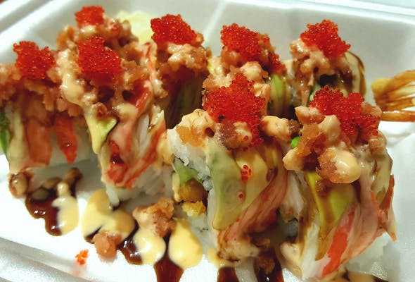 Red Dragon Special Roll