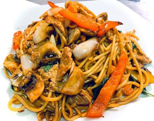 Spaghetti Kee Mao