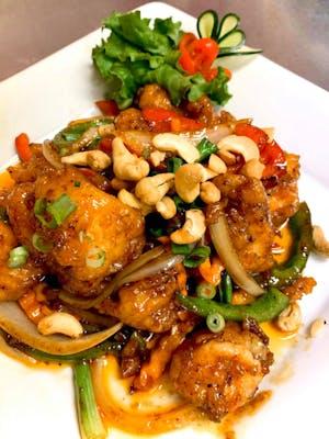Crunchy Shrimp Dinner