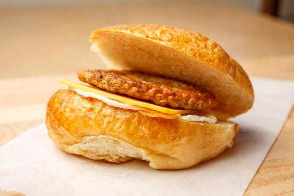 Sausage, Egg & Cheese Croissant