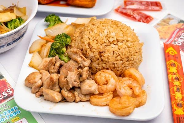 H9. Teriyaki Chicken & Hibachi Shrimp