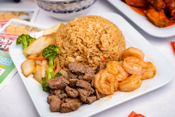 H11. Hibachi Steak & Hibachi Shrimp