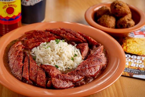 Cajun Sausage with Red Beans & Rice