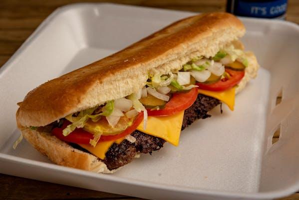 Hamburger Poboy