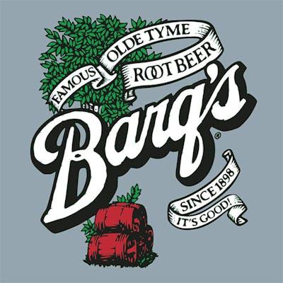Glass Bottle Barq's Root Beer