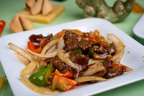 68. Pepper Steak with Onions