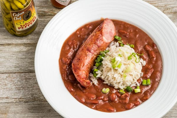 New Orleans Style Red Beans & Rice with Sausage