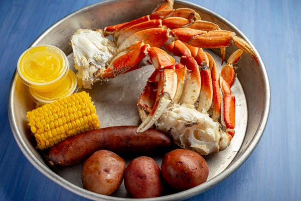 Dungeness Crab Plate