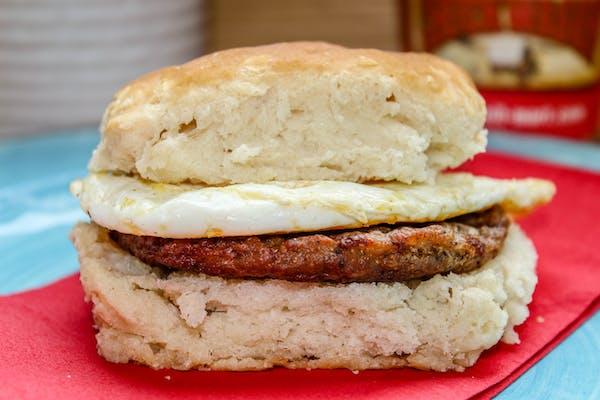 Patty Breakfast Sandwich