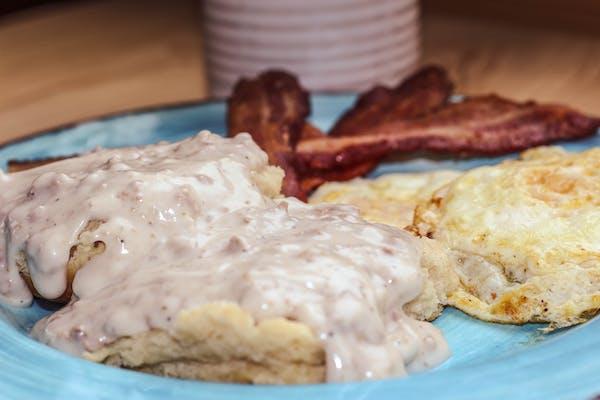Gravy Biscuit Platter