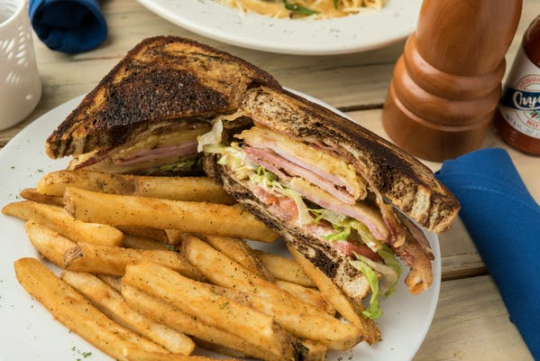 Creole Club Sandwich