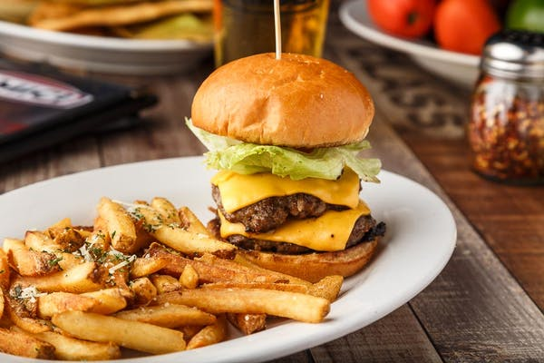 Double-Stacked Cheeseburger