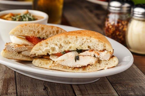 Chicken Caprese Sandwich