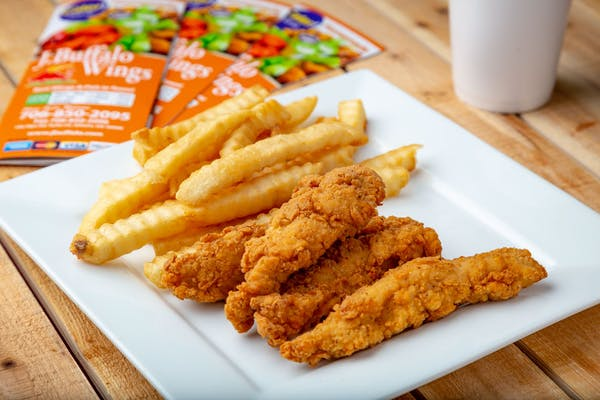 (4 pc.) Chicken Tender & Fries Combo