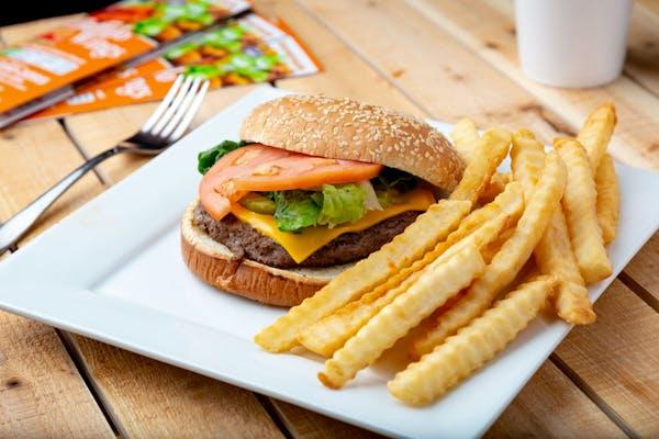 Burger & Fries Combo