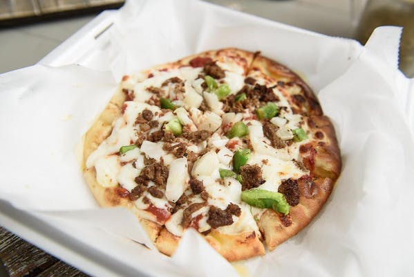 """(16"""") Philly Cheesesteak Specialty Pizza"""