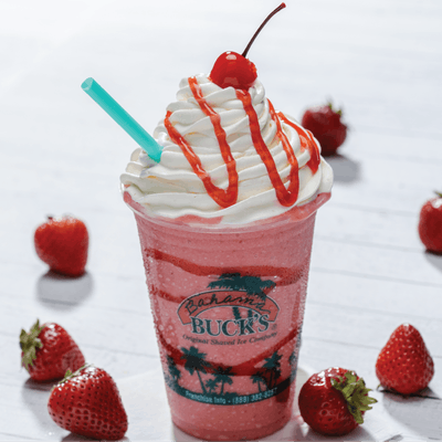#16. Strawberry Bliss Smoothie