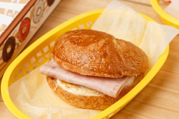 Ham, Egg & Cheese Croissant