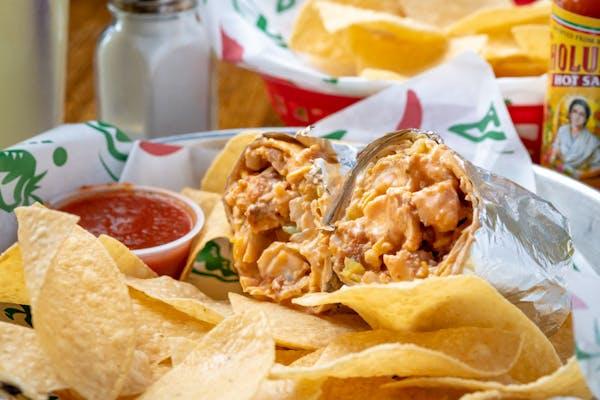 Buffalo Chicken Burrito