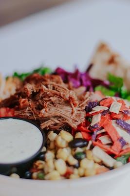BBQ Nacho Salad