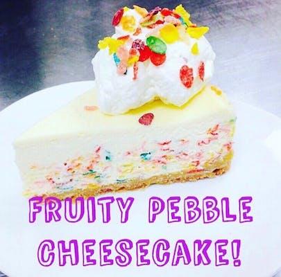 Fruity Pebble Cheesecake