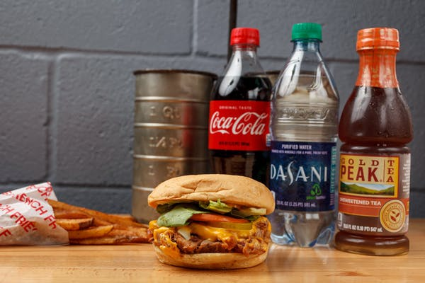 Regular Pork Roast Sandwich Coca-Cola Combo