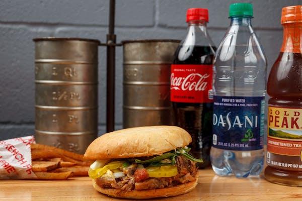 Large Pork Roast Sandwich Coca-Cola Combo